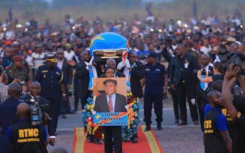 La dépouille d'Étienne Tshisekedi